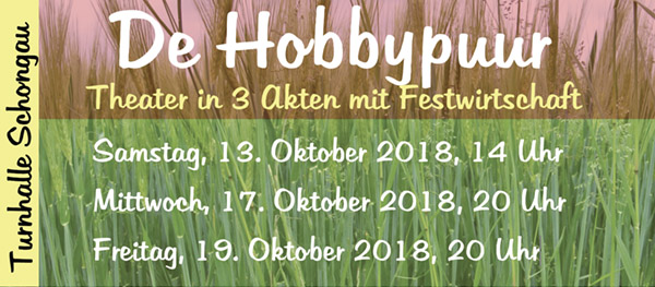 Theater Hobbypuur in Schongau